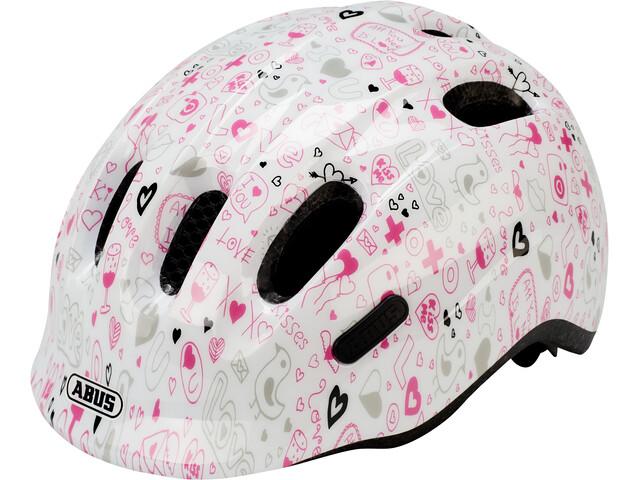 ABUS Smiley 2.1 Helmet Kids white crush